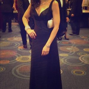BCBG Herve Leger inspired evening gown-like new!